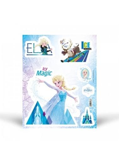 Disney Fosforlu Duvar Sticker Frozen 29 Cm Renkli